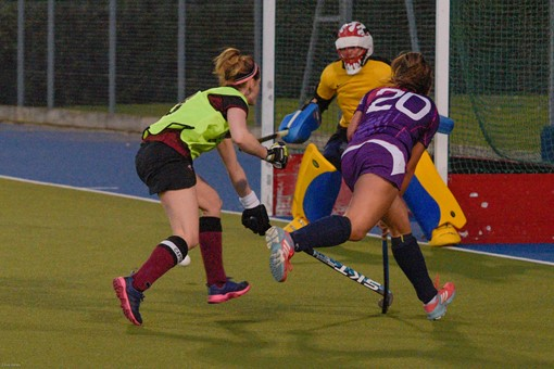 Ladies 1s v Loughborough in friendly 006