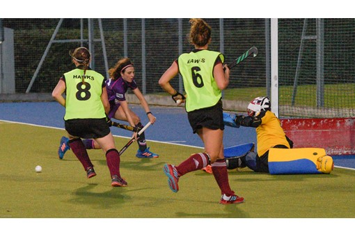 Ladies 1s v Loughborough in friendly 008