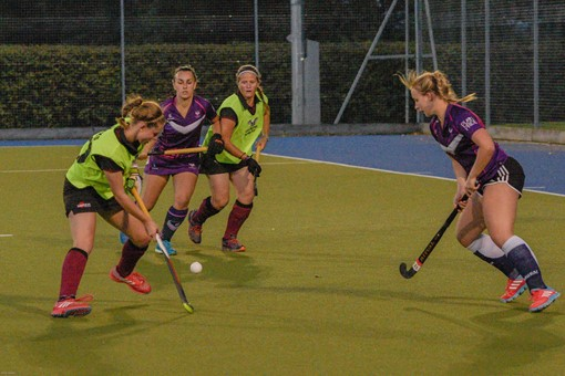 Ladies 1s v Loughborough in friendly 010
