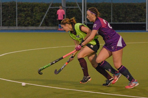 Ladies 1s v Loughborough in friendly 011