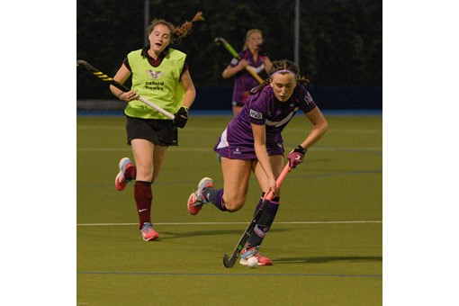 Ladies 1s v Loughborough in friendly 012