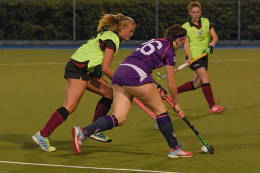 Ladies 1s v Loughborough in friendly 013