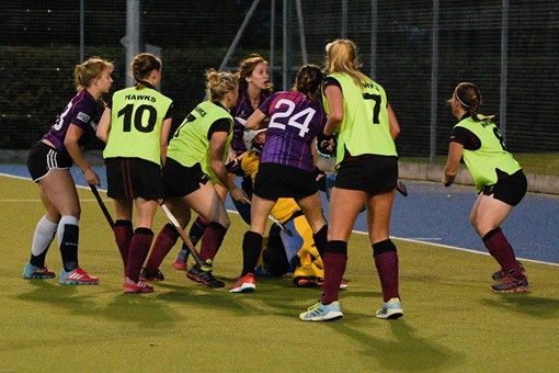 Ladies 1s v Loughborough in friendly 014
