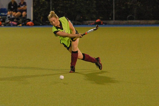 Ladies 1s v Loughborough in friendly 015