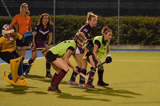 Ladies 1s v Loughborough in friendly 016