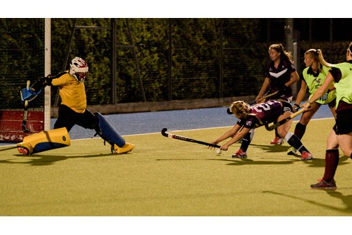 Ladies 1s v Loughborough in friendly 022