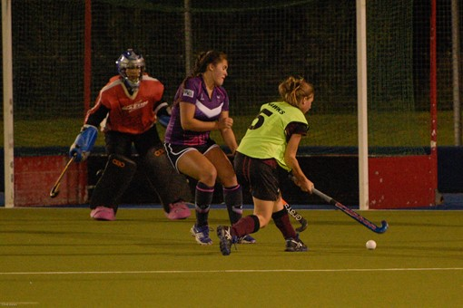 Ladies 1s v Loughborough in friendly 023