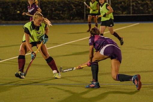 Ladies 1s v Loughborough in friendly 024