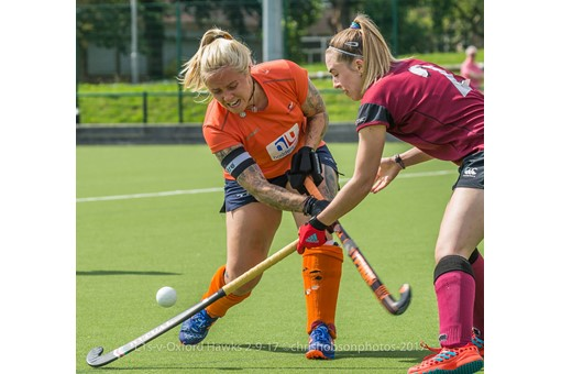 Ladies' 1s v St Albans in friendly 003