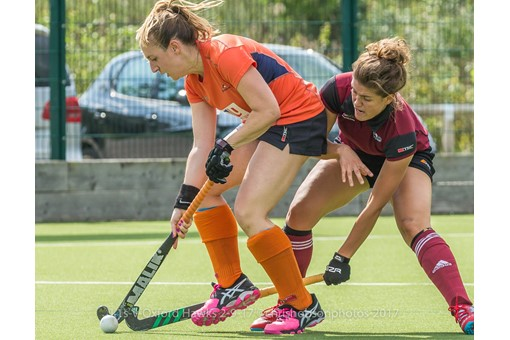 Ladies' 1s v St Albans in friendly 004