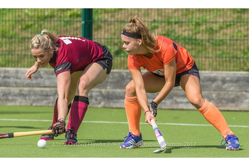 Ladies' 1s v St Albans in friendly 007
