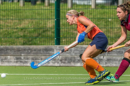 Ladies' 1s v St Albans in friendly 008