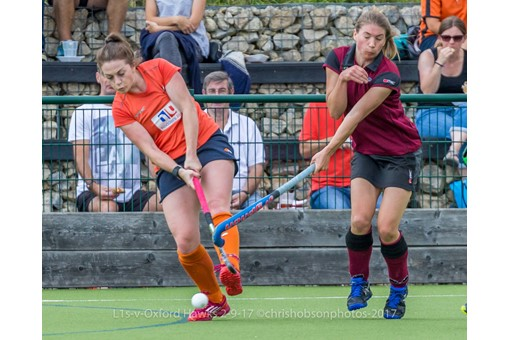 Ladies' 1s v St Albans in friendly 019