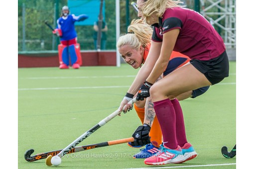 Ladies' 1s v St Albans in friendly 020
