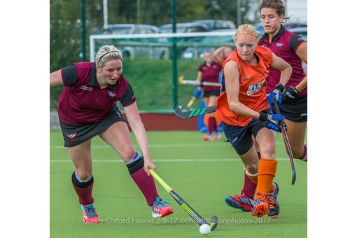 Ladies' 1s v St Albans in friendly 025