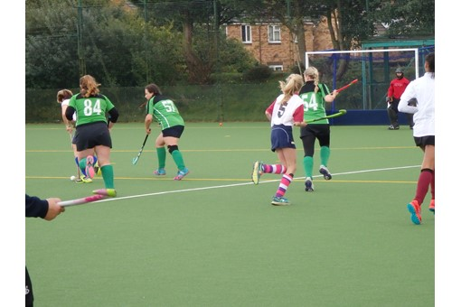 Ladies' 7s in friendly v Bicester 4s 010