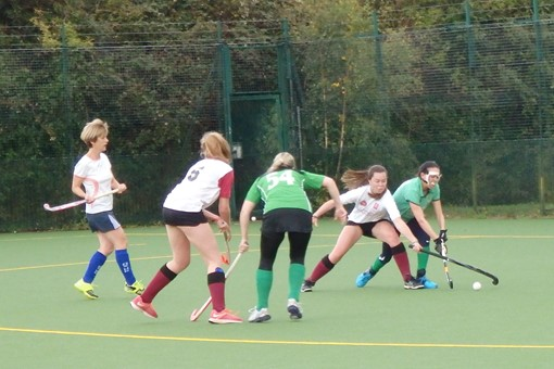 Ladies' 7s in friendly v Bicester 4s 012