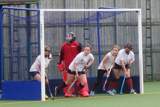 Ladies' 7s in friendly v Bicester 4s 015