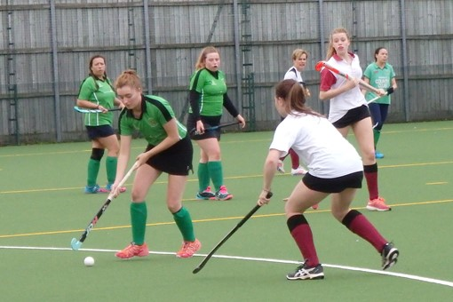 Ladies' 7s in friendly v Bicester 4s 017