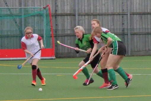 Ladies' 7s in friendly v Bicester 4s 018