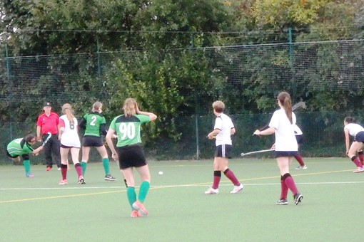 Ladies' 7s in friendly v Bicester 4s 019