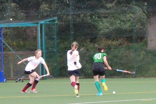 Ladies' 7s in friendly v Bicester 4s 020