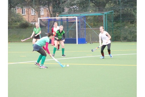 Ladies' 7s in friendly v Bicester 4s 022