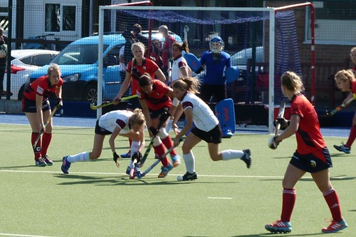 Ladies' 1s v Trojans 002