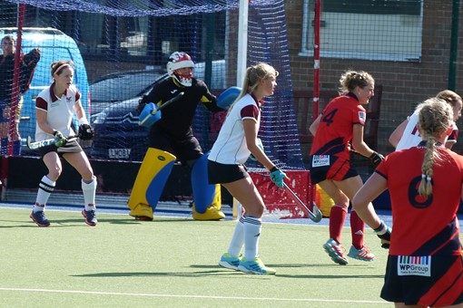 Ladies' 1s v Trojans 006