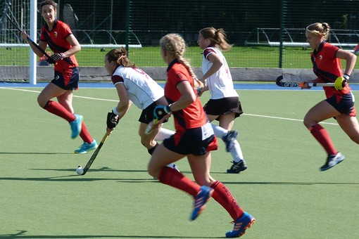 Ladies' 1s v Trojans 008