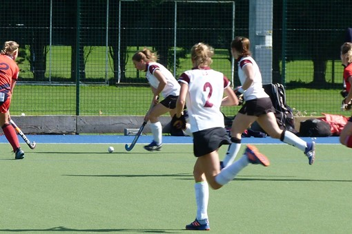 Ladies' 1s v Trojans 009
