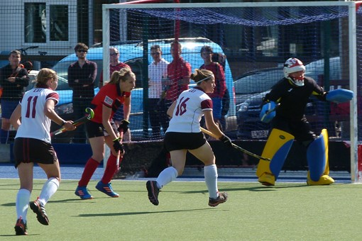 Ladies' 1s v Trojans 010