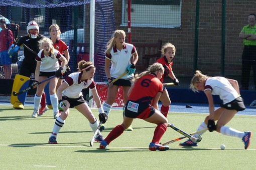 Ladies' 1s v Trojans 011