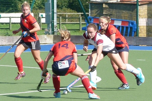 Ladies' 1s v Trojans 013