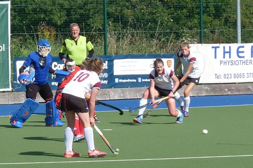 Ladies' 1s v Trojans 014