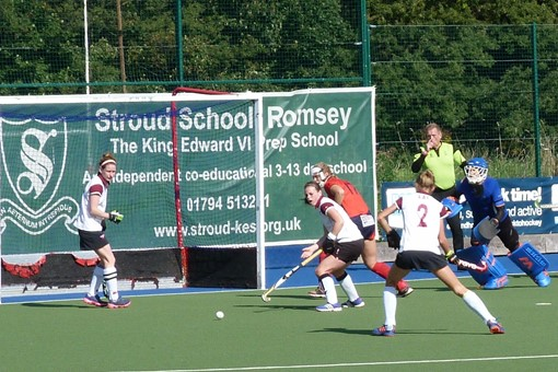 Ladies' 1s v Trojans 018