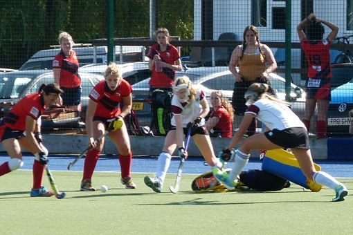Ladies' 1s v Trojans 021