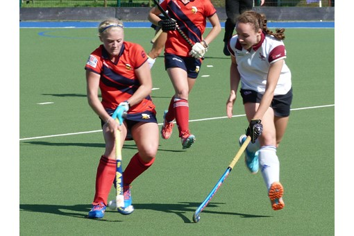 Ladies' 1s v Trojans 022
