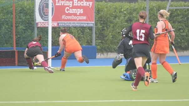 Ladies' 1s v Swansea 024