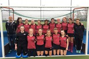 U18 Girls team March 2018 001