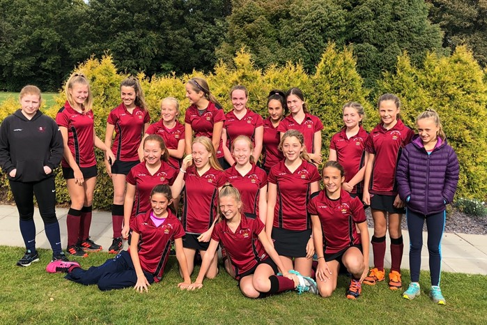 U14 Girls A team September 2018 001
