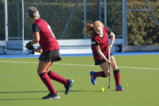 Ladies' 5s v Reading 011
