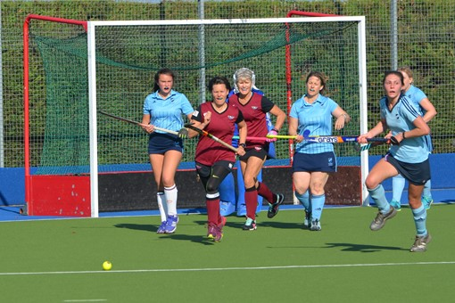 Ladies' 5s v Reading 016