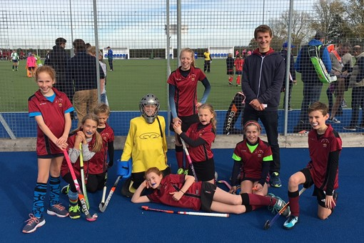 U12 Mixed team at Junior Festival Oct 001