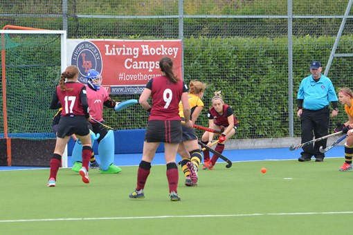 Ladies' 2s v Henley 012