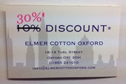 Elmer Cotton Closing Down Sale 001