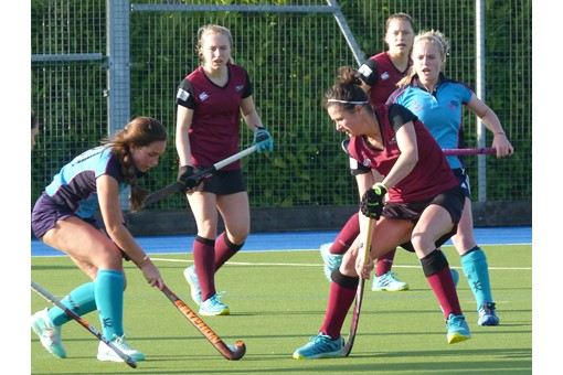 Ladies' 1s v ISCA 008
