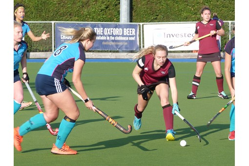Ladies' 1s v ISCA 013