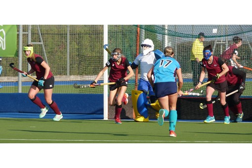 Ladies' 1s v ISCA 014