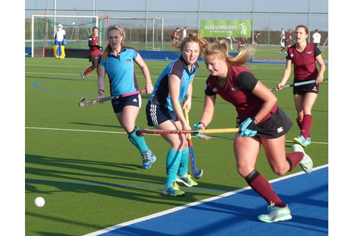 Ladies' 1s v ISCA 017